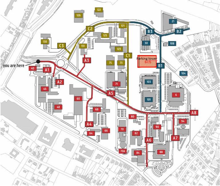 plan met parking tower