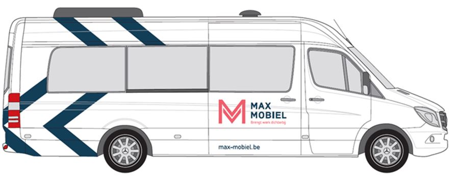 max mobiel nieuwe bus