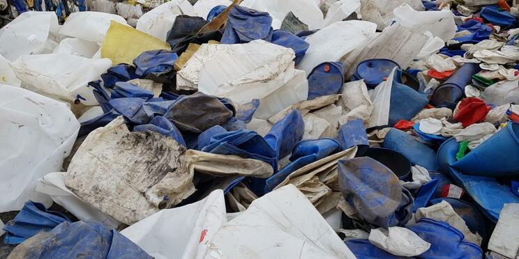 plasticbedrijfsafval I